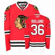 Reebok Chicago Blackhawks 36 Dave Bolland Authentic Red Home Man NHL Jersey