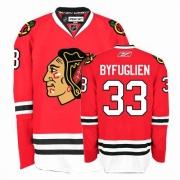 Reebok Chicago Blackhawks 33 Dustin Byfuglien Authentic Red Home Man NHL Jersey