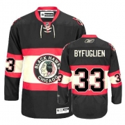 Youth Reebok Chicago Blackhawks 33 Dustin Byfuglien Authentic Black New Third NHL Jersey