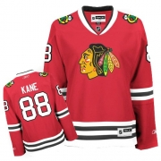 Reebok Chicago Blackhawks 88 Patrick Kane Red Women Home Authentic NHL Jersey
