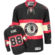 Youth Reebok Chicago Blackhawks 88 Patrick Kane Authentic Black New Third NHL Jersey