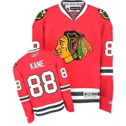 Youth Reebok Chicago Blackhawks 88 Patrick Kane Premier Red Home NHL Jersey