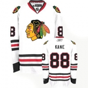 Youth Reebok Chicago Blackhawks 88 Patrick Kane Premier White NHL Jersey