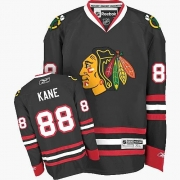 Youth Reebok Chicago Blackhawks 88 Patrick Kane Premier Black NHL Jersey