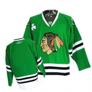 Reebok Chicago Blackhawks Premier Blank Green Man NHL Jersey