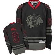 Reebok Chicago Blackhawks 9 Bobby Hull Black Ice Premier NHL Jersey