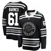 Fanatics Branded Chicago Blackhawks 61 Tyler Barnes Black 2019 Winter Classic Breakaway Men's NHL Jersey