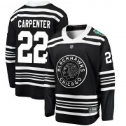 Fanatics Branded Chicago Blackhawks 22 Ryan Carpenter Black 2019 Winter Classic Breakaway Men's NHL Jersey