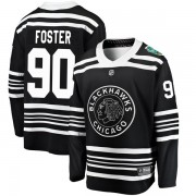 Fanatics Branded Chicago Blackhawks 90 Scott Foster Black 2019 Winter Classic Breakaway Men's NHL Jersey