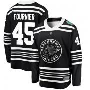 Fanatics Branded Chicago Blackhawks 45 Dillon Fournier Black 2019 Winter Classic Breakaway Men's NHL Jersey