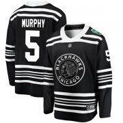 Fanatics Branded Chicago Blackhawks 5 Connor Murphy Black 2019 Winter Classic Breakaway Men's NHL Jersey