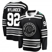Fanatics Branded Chicago Blackhawks 92 Alexander Nylander Black 2019 Winter Classic Breakaway Men's NHL Jersey