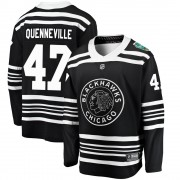 Fanatics Branded Chicago Blackhawks 47 John Quenneville Black ized 2019 Winter Classic Breakaway Men's NHL Jersey