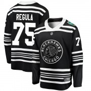 Fanatics Branded Chicago Blackhawks 75 Alec Regula Black ized 2019 Winter Classic Breakaway Men's NHL Jersey