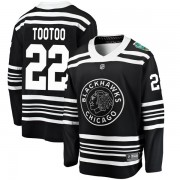 Fanatics Branded Chicago Blackhawks 22 Jordin Tootoo Black 2019 Winter Classic Breakaway Men's NHL Jersey