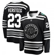 Fanatics Branded Chicago Blackhawks 23 Kris Versteeg Black 2019 Winter Classic Breakaway Men's NHL Jersey