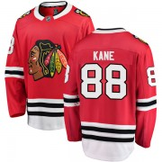 Fanatics Branded Chicago Blackhawks 88 Patrick Kane Red Breakaway Home Youth NHL Jersey