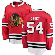 Fanatics Branded Chicago Blackhawks 54 Roy Radke Red Breakaway Home Youth NHL Jersey