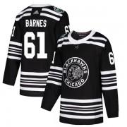 Adidas Chicago Blackhawks 61 Tyler Barnes Authentic Black 2019 Winter Classic Men's NHL Jersey