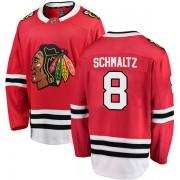 Fanatics Branded Chicago Blackhawks 8 Nick Schmaltz Red Breakaway Home Men's NHL Jersey
