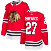 Adidas Chicago Blackhawks 27 Jeremy Roenick Authentic Red Home Men's NHL Jersey