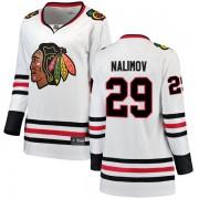 Fanatics Branded Chicago Blackhawks 29 Ivan Nalimov White Breakaway Away Women's NHL Jersey