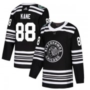 Adidas Chicago Blackhawks 88 Patrick Kane Authentic Black 2019 Winter Classic Youth NHL Jersey