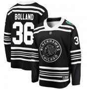 Fanatics Branded Chicago Blackhawks 36 Dave Bolland Black 2019 Winter Classic Breakaway Youth NHL Jersey