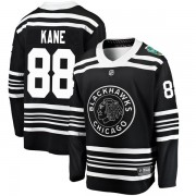 Fanatics Branded Chicago Blackhawks 88 Patrick Kane Black 2019 Winter Classic Breakaway Youth NHL Jersey