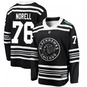 Fanatics Branded Chicago Blackhawks 76 Robin Norell Black 2019 Winter Classic Breakaway Youth NHL Jersey