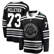 Fanatics Branded Chicago Blackhawks 73 Will Pelletier Black 2019 Winter Classic Breakaway Youth NHL Jersey