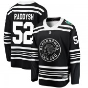 Fanatics Branded Chicago Blackhawks 52 Darren Raddysh Black 2019 Winter Classic Breakaway Youth NHL Jersey
