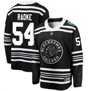 Fanatics Branded Chicago Blackhawks 54 Roy Radke Black 2019 Winter Classic Breakaway Youth NHL Jersey