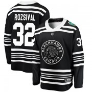 Fanatics Branded Chicago Blackhawks 32 Michal Rozsival Black 2019 Winter Classic Breakaway Youth NHL Jersey