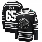 Fanatics Branded Chicago Blackhawks 65 Andrew Shaw Black 2019 Winter Classic Breakaway Youth NHL Jersey