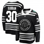 Fanatics Branded Chicago Blackhawks 30 Malcolm Subban Black ized 2019 Winter Classic Breakaway Youth NHL Jersey