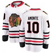 Fanatics Branded Chicago Blackhawks 10 Tony Amonte White Breakaway Away Youth NHL Jersey