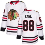 Adidas Chicago Blackhawks 88 Patrick Kane Authentic White Away Women's NHL Jersey