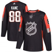Adidas Chicago Blackhawks 88 Patrick Kane Authentic Black 2018 All-Star Central Division Men's NHL Jersey