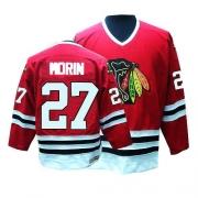 CCM Chicago Blackhawks 27 Jeremy Morin Red Throwback Premier NHL Jersey
