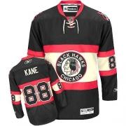 Youth Reebok Chicago Blackhawks 88 Patrick Kane Authentic Black New Third NHL Jersey