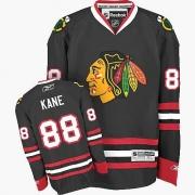 Youth Reebok Chicago Blackhawks 88 Patrick Kane Authentic Black NHL Jersey