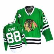 Youth Reebok Chicago Blackhawks 88 Patrick Kane Authentic Green NHL Jersey