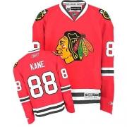 Youth Reebok Chicago Blackhawks 88 Patrick Kane Premier Red Home NHL Jersey