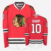 Youth Reebok Chicago Blackhawks 10 Patrick Sharp Authentic Red Home NHL Jersey