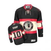 Youth Reebok Chicago Blackhawks 10 Patrick Sharp Premier Black New Third NHL Jersey
