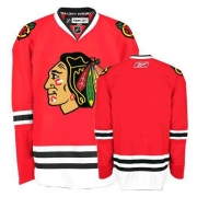 Reebok Chicago Blackhawks Authentic Blank Red Home Man NHL Jersey