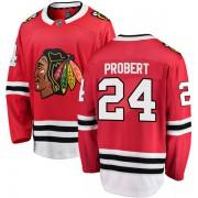 Fanatics Branded Chicago Blackhawks 24 Bob Probert Red Breakaway Home Youth NHL Jersey
