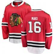 Fanatics Branded Chicago Blackhawks 16 Chico Maki Red Breakaway Home Men's NHL Jersey
