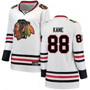 Fanatics Branded Chicago Blackhawks 88 Patrick Kane White Breakaway Away Women's NHL Jersey